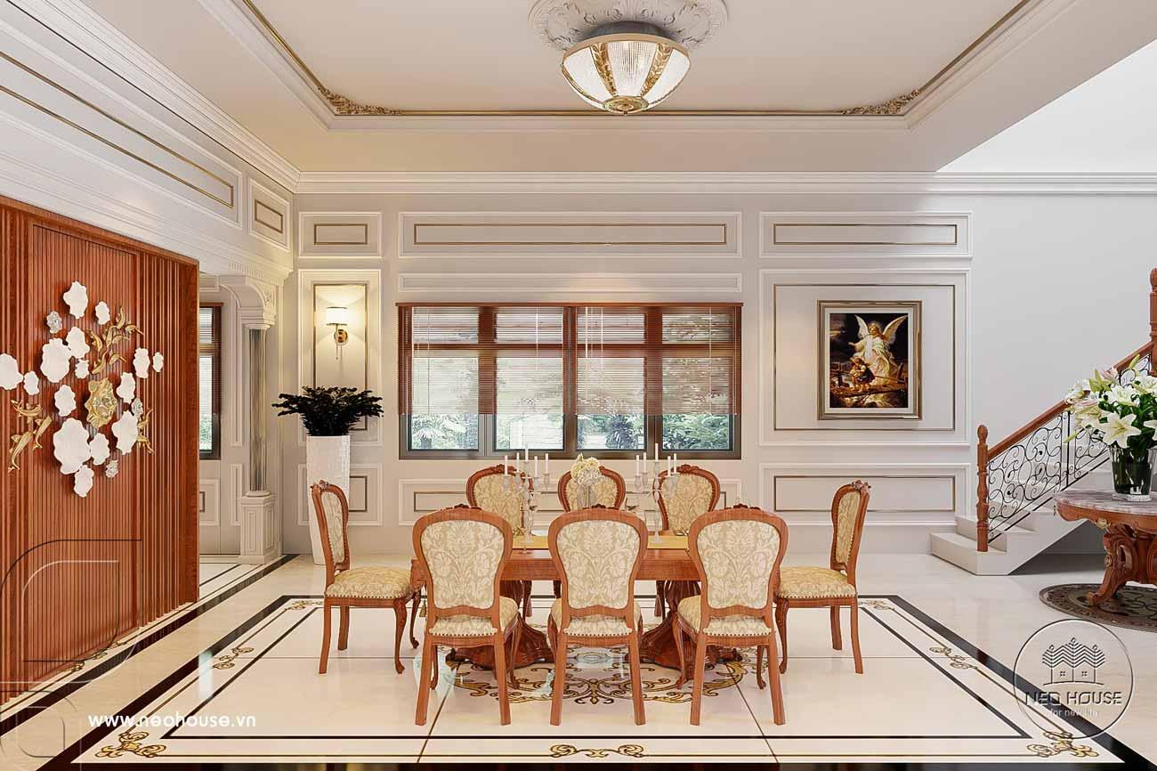 Thiết kế nội thất nhà tân cổ điển 1 tầng. Ảnh 5