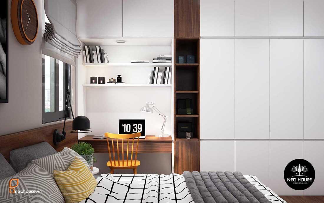 Phòng ngủ đẹp 10m2. Ảnh 2
