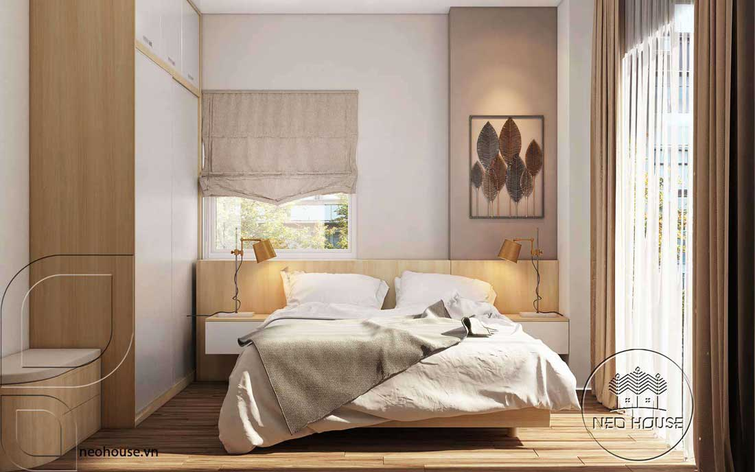 Phòng ngủ đẹp 12m2. Ảnh 1
