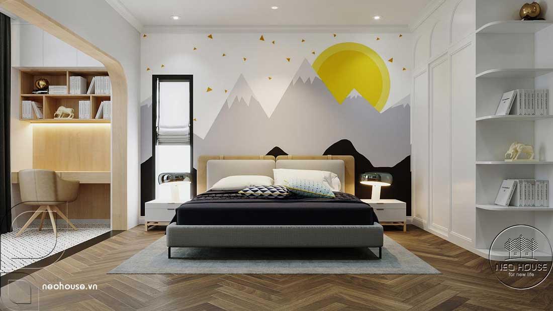 Phòng ngủ đẹp 30m2. Ảnh 1