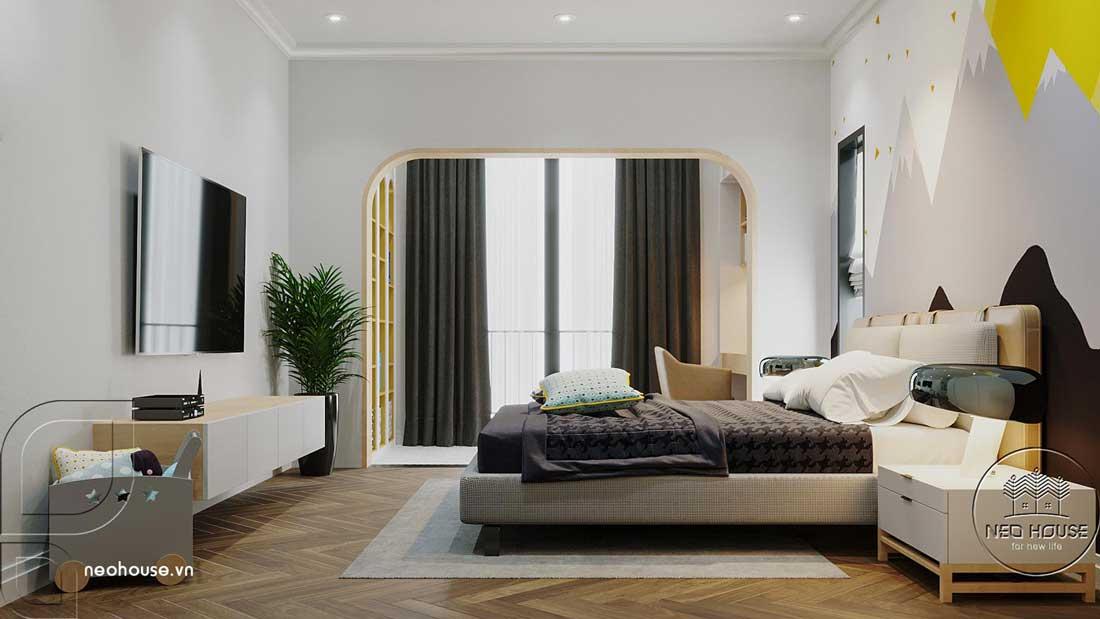 Phòng ngủ đẹp 30m2. Ảnh 2