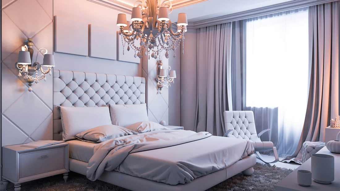Phòng ngủ đẹp cổ điển
