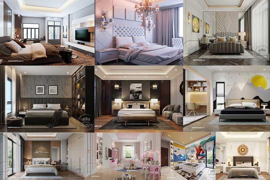 100+ Mẫu Nội Thất Phòng Ngủ Đẹp 2021 Thiết Kế Sang Trọng