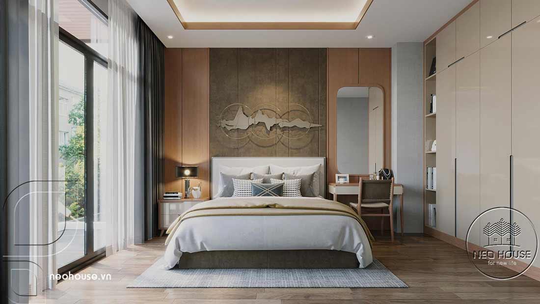 Phòng ngủ hiện đại. Ảnh 1