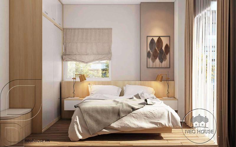 Phòng ngủ master căn hộ chung cư. Ảnh 5