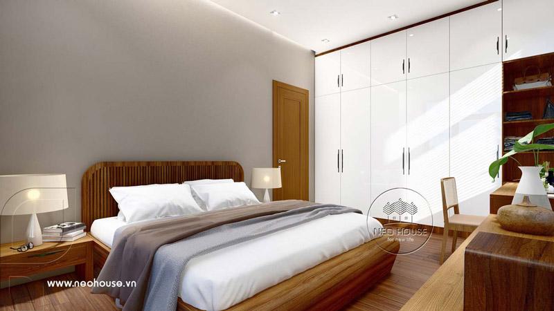Phòng ngủ master hiện đại. Ảnh 1
