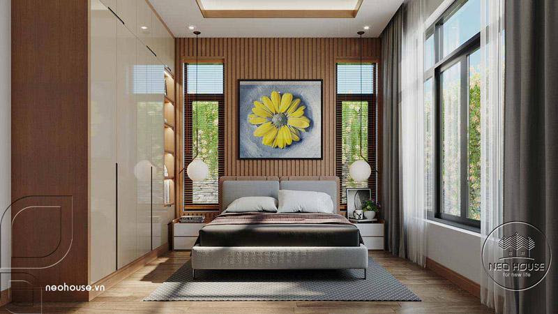 Phòng ngủ master hiện đại. Ảnh 3