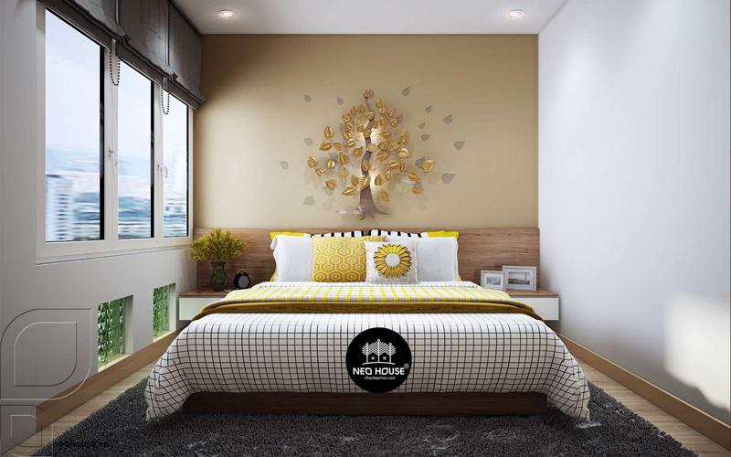 Phòng ngủ master nhà phố. Ảnh 2