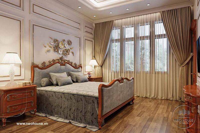 Phòng ngủ master tân cổ điển. Ảnh 1