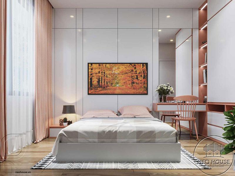 Phòng ngủ màu hồng. Ảnh 8