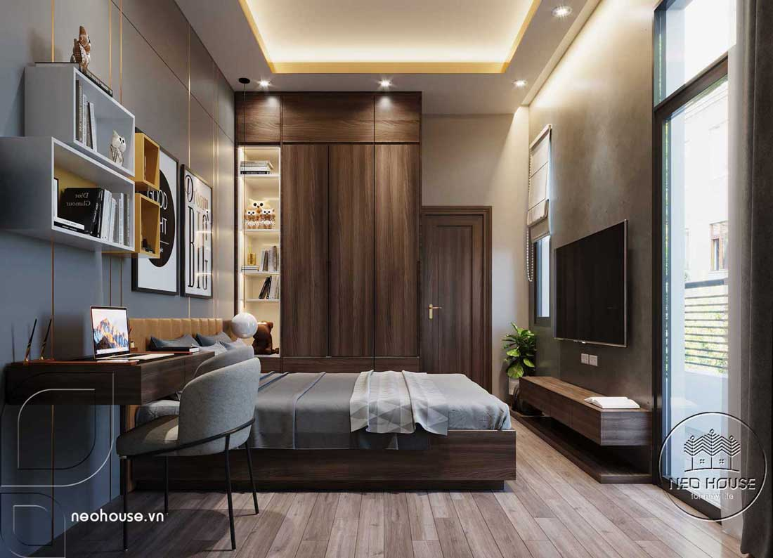 Phòng ngủ đẹp nam giới. Ảnh 2
