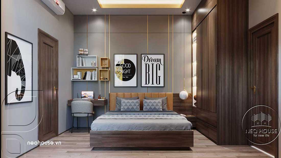 Phòng ngủ đẹp nam giới. Ảnh 1
