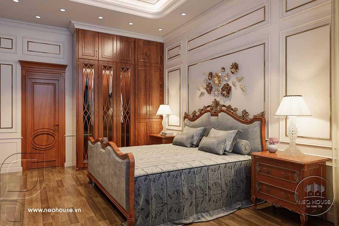 Phòng ngủ đẹp tân cổ điển. Ảnh 2