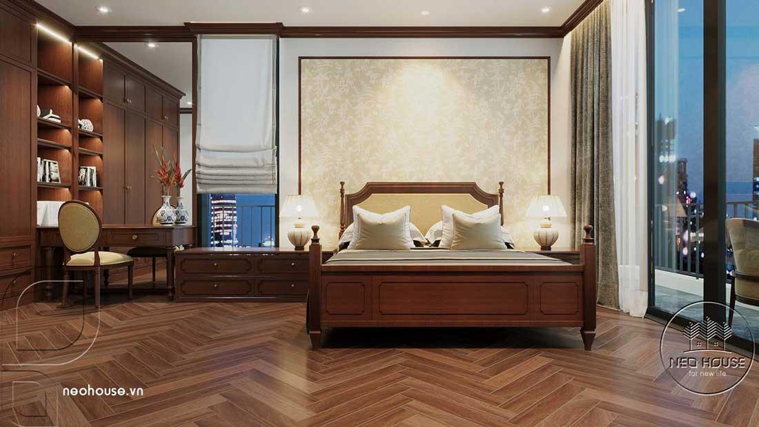 Phòng ngủ đẹp vợ chồng. Ảnh 1