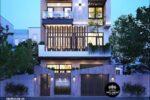 Thiết Kế Nhà Phố Độc Đáo 4 Tầng Mặt Tiền 8m Tại Tân Phú – NP55