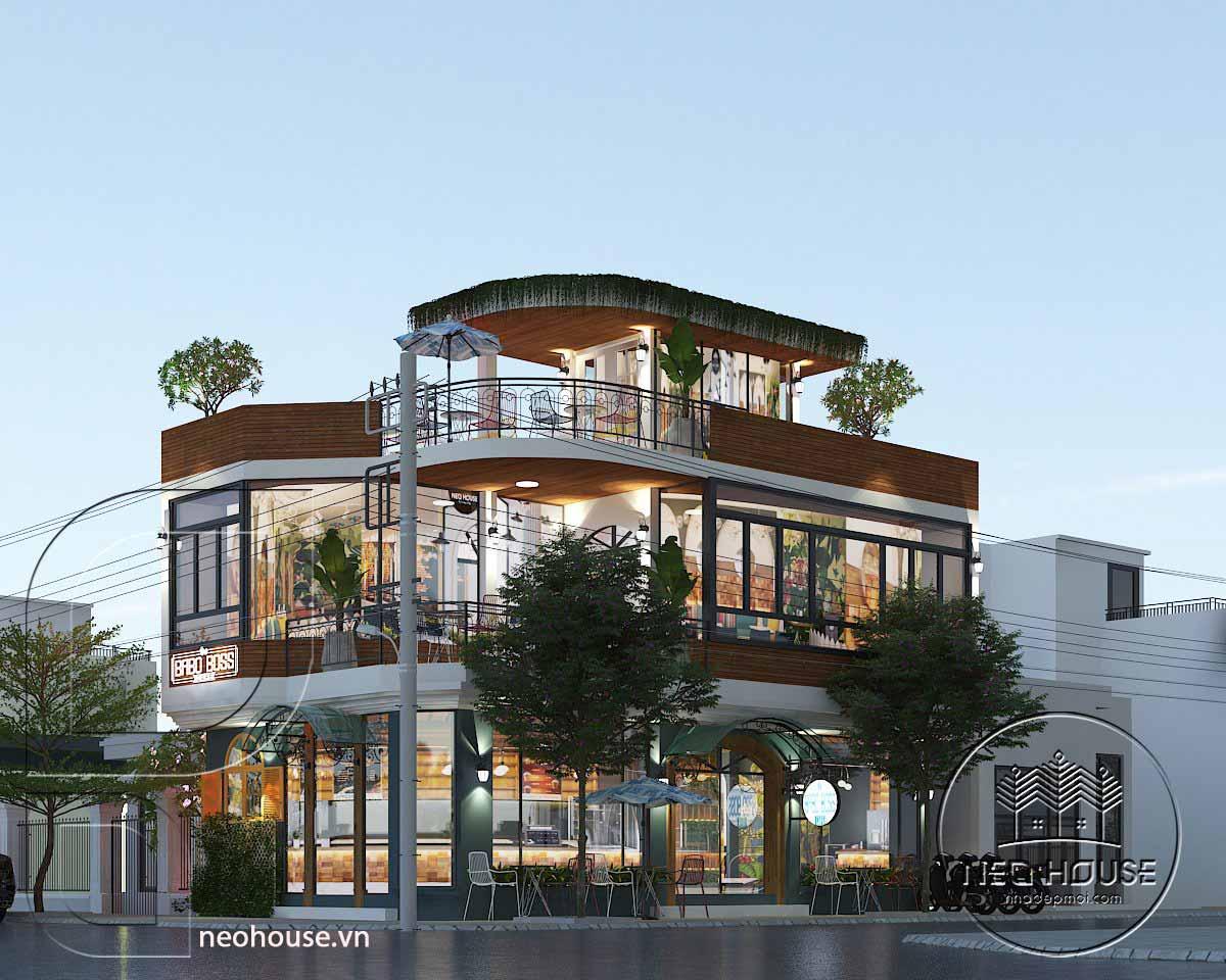 Thiết kế cải tạo quán cafe BABO BOSS. Ảnh 1