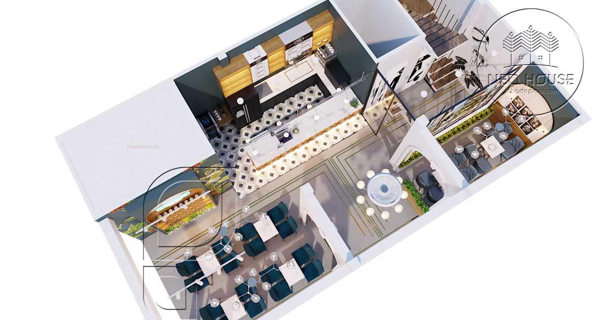 Thiết kế cải tạo quán cafe BABO BOSS. Ảnh 2