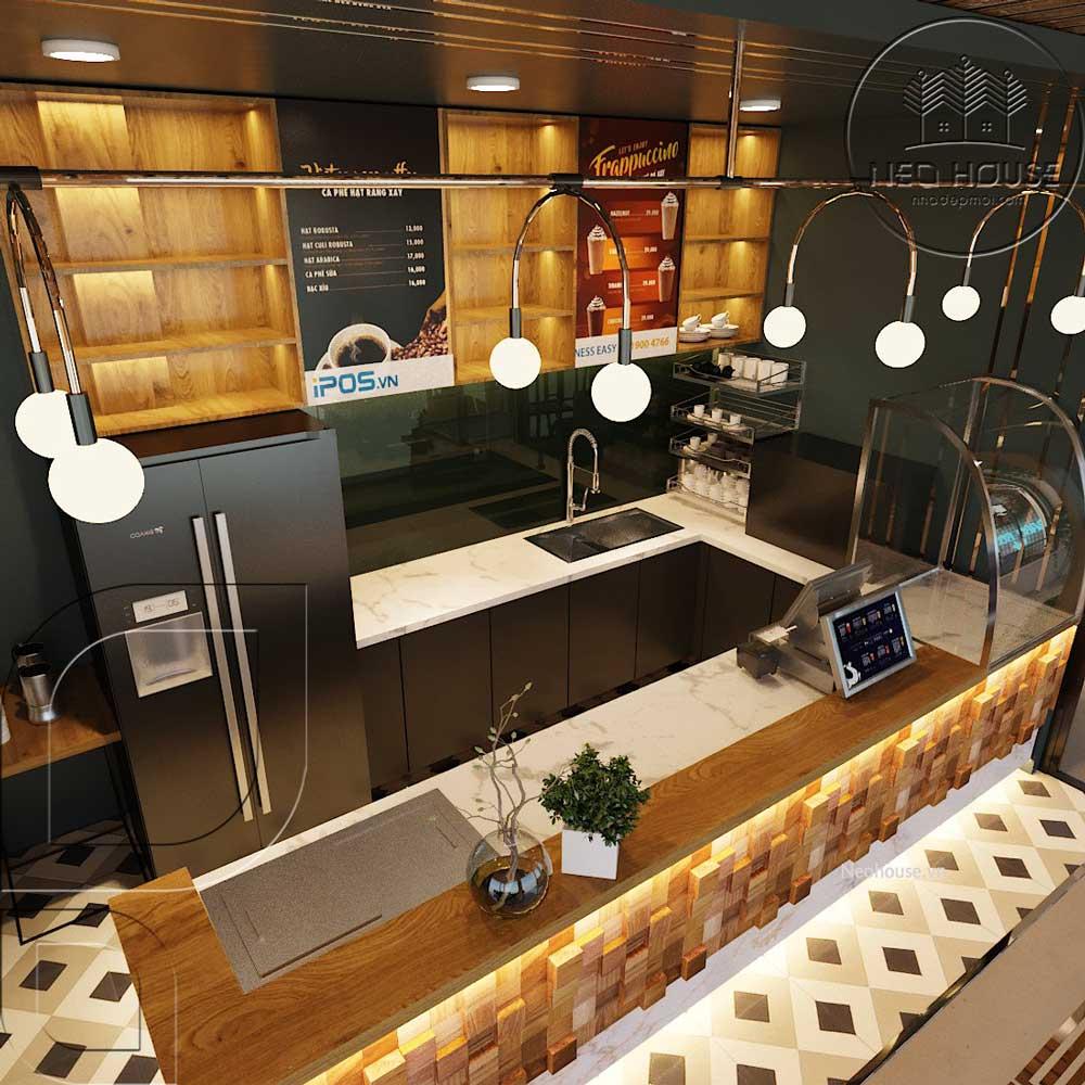 Thiết kế cải tạo quán cafe BABO BOSS. Ảnh 5