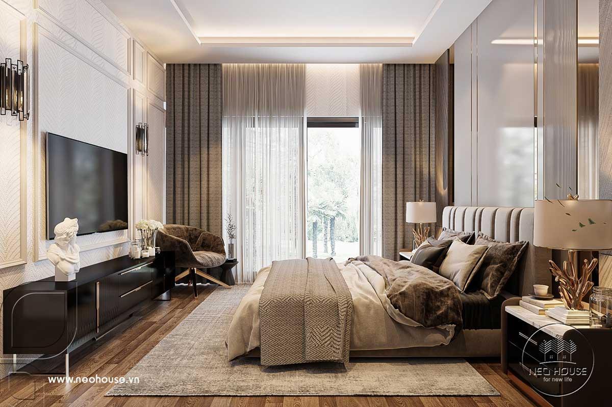 Thiết kế nội thất nhà biệt thự hiện đại 3 tầng. Ảnh 12