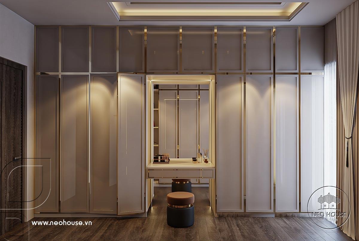 Thiết kế nội thất nhà biệt thự hiện đại 3 tầng. Ảnh 15