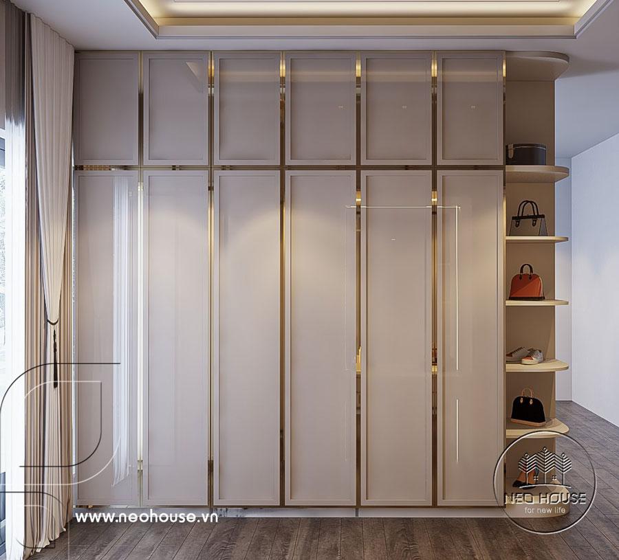 Thiết kế nội thất nhà biệt thự hiện đại 3 tầng. Ảnh 16