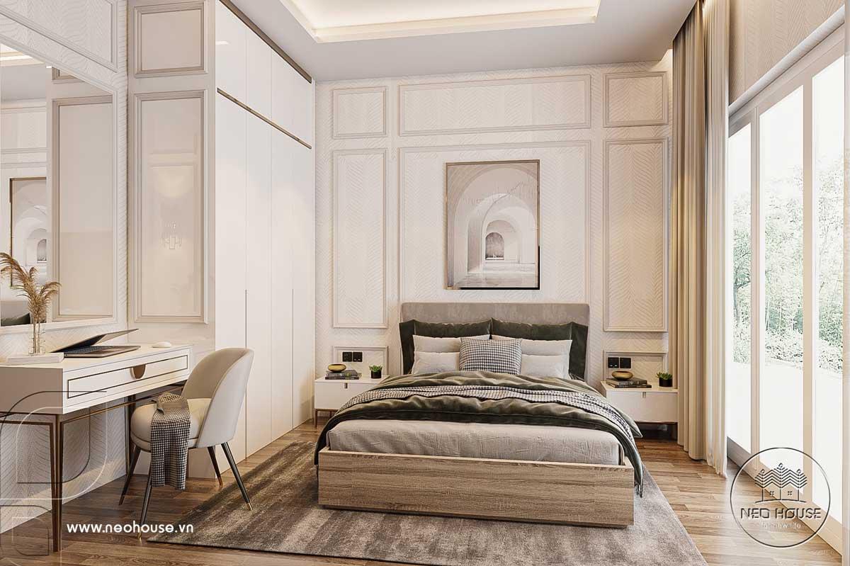 Thiết kế nội thất nhà biệt thự hiện đại 3 tầng. Ảnh 21