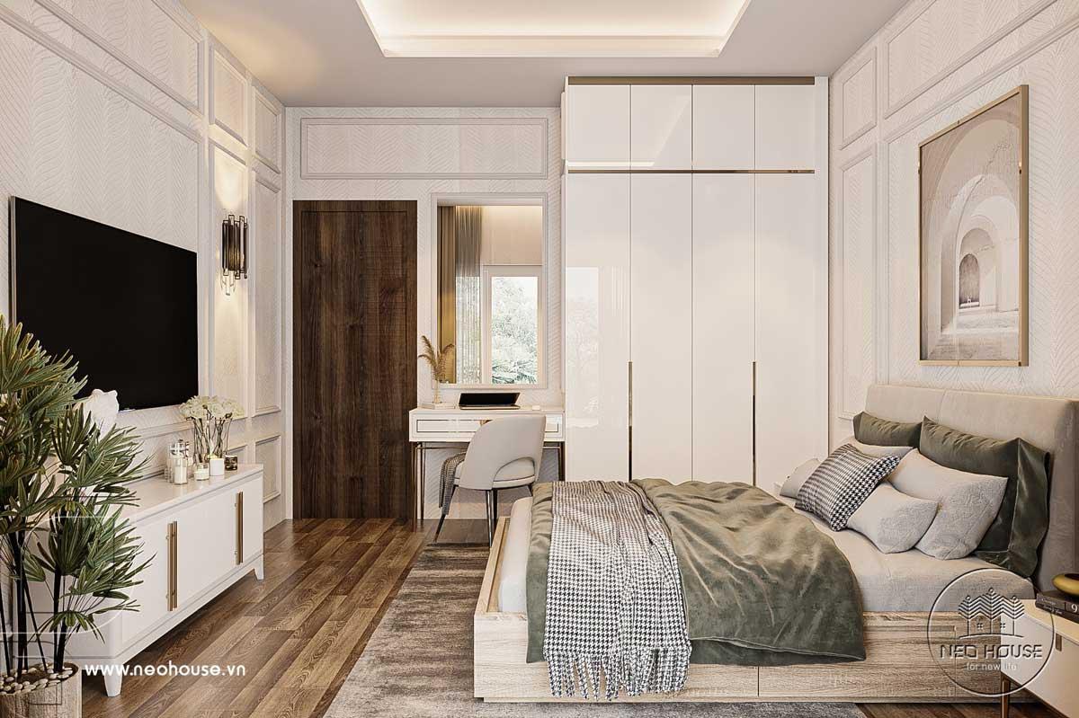 Thiết kế nội thất nhà biệt thự hiện đại 3 tầng. Ảnh 22