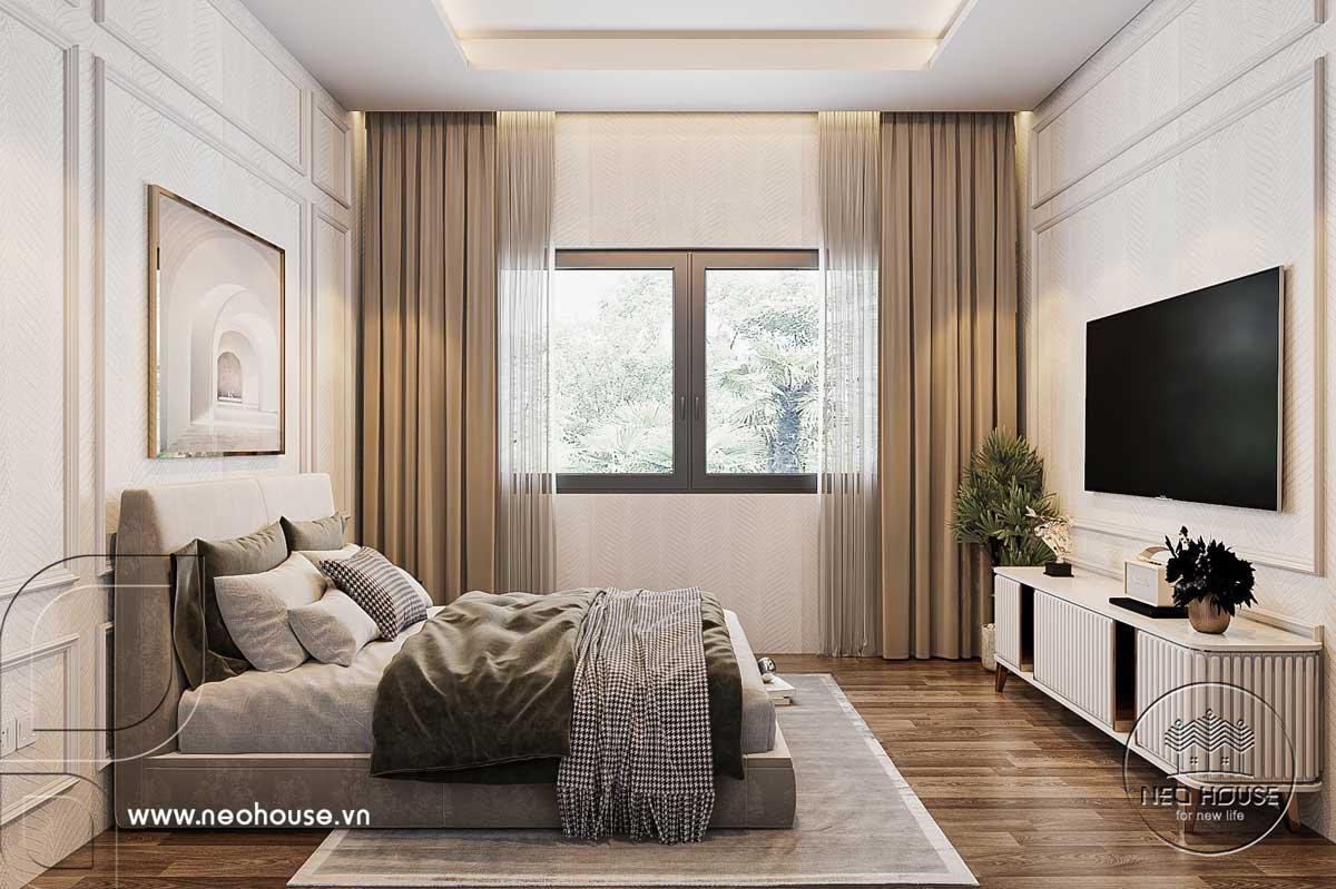 Thiết kế nội thất nhà biệt thự hiện đại 3 tầng. Ảnh 23