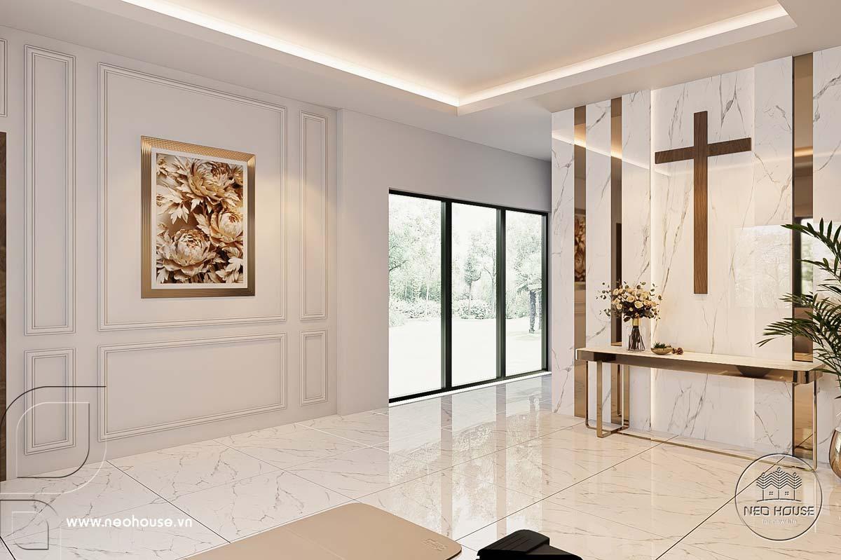 Thiết kế nội thất nhà biệt thự hiện đại 3 tầng. Ảnh 29