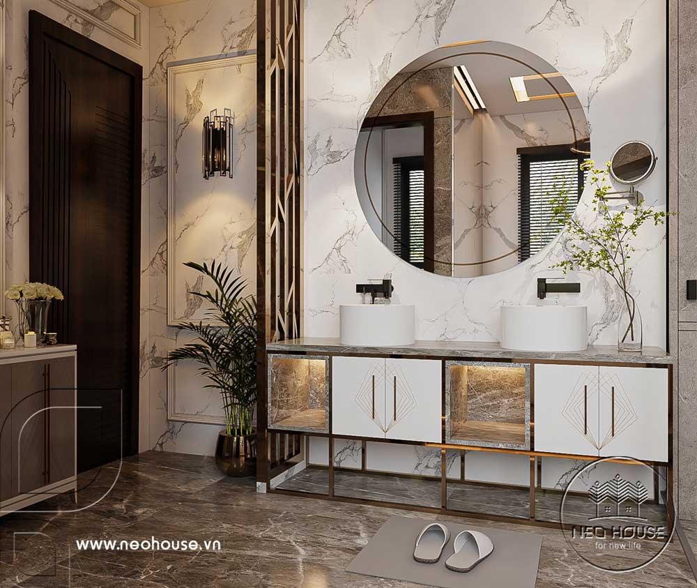 Thiết kế nội thất nhà biệt thự hiện đại 3 tầng. Ảnh 18