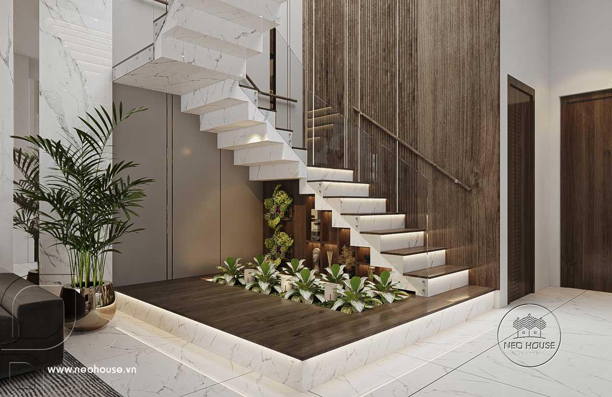 Thiết kế nội thất nhà biệt thự hiện đại 3 tầng. Ảnh 4