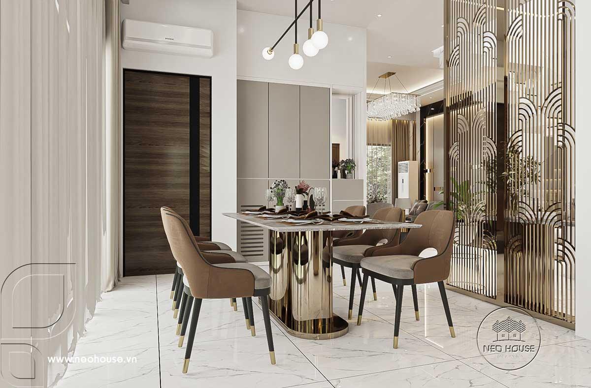Thiết kế nội thất nhà biệt thự hiện đại 3 tầng. Ảnh 6