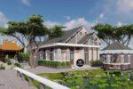 Mẫu Biệt Thự Nhà Vườn 1 Tầng Mái Thái 11x18m Sang Trọng Và Tiện Nghi – BT38