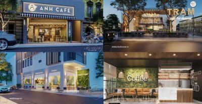 """7 Mẫu Thiết Kế Quán Cafe Nhỏ Đẹp Giá Rẻ """"Hot"""" Nhất Hiện Nay"""